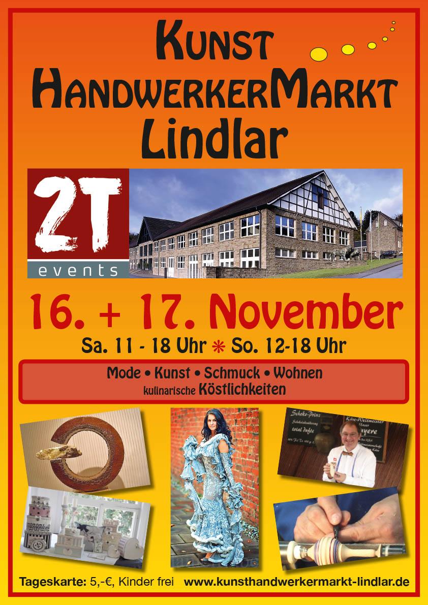 Plakat Veranstaltung Kunsthandwerker Markt Print In Time